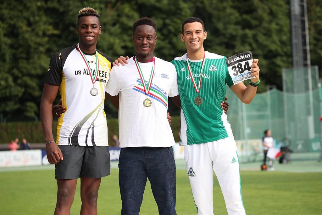 Hassane Fofana- Campionati Italiani 2019