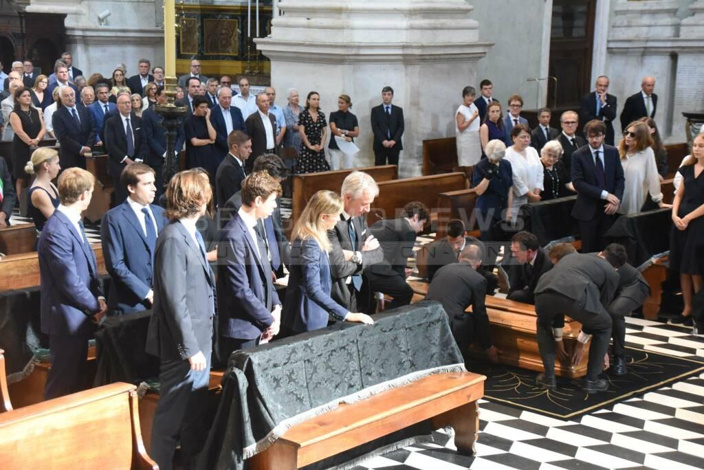 I funerali di Giampiero Pesenti