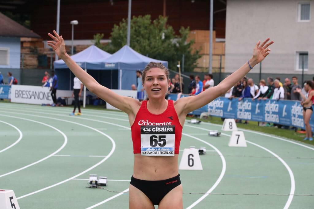Marta Zenoni - Campionati Italiani 2019