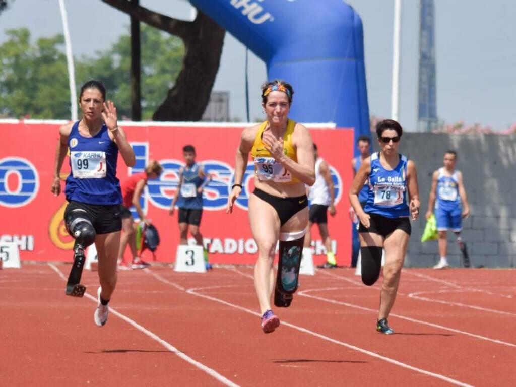 Martina Caironi - Campionati Italiani Paraolimpici 2019