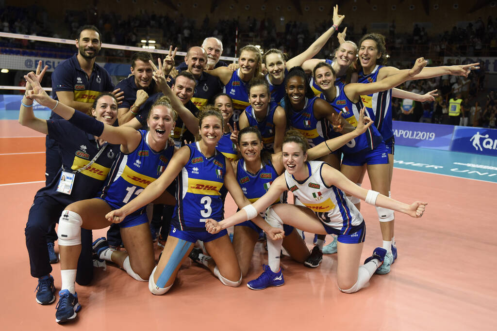 Nazionale Italiana Pallavolo Femminile - Universiadi 2019