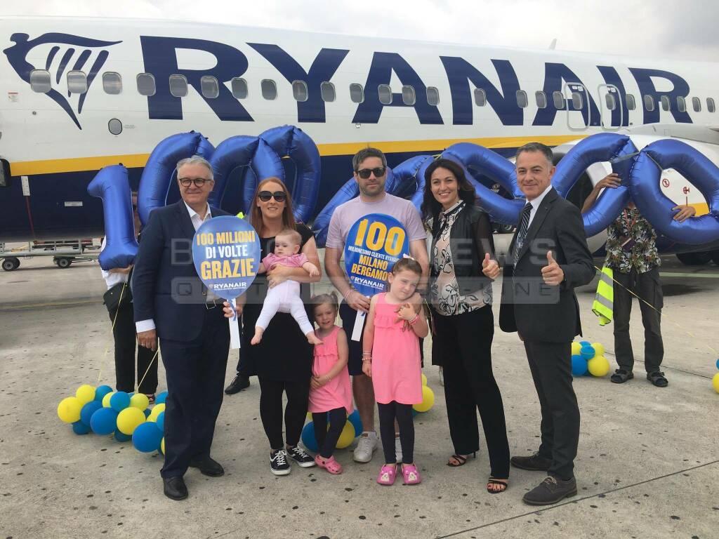 ryanair 100 milioni passeggeri