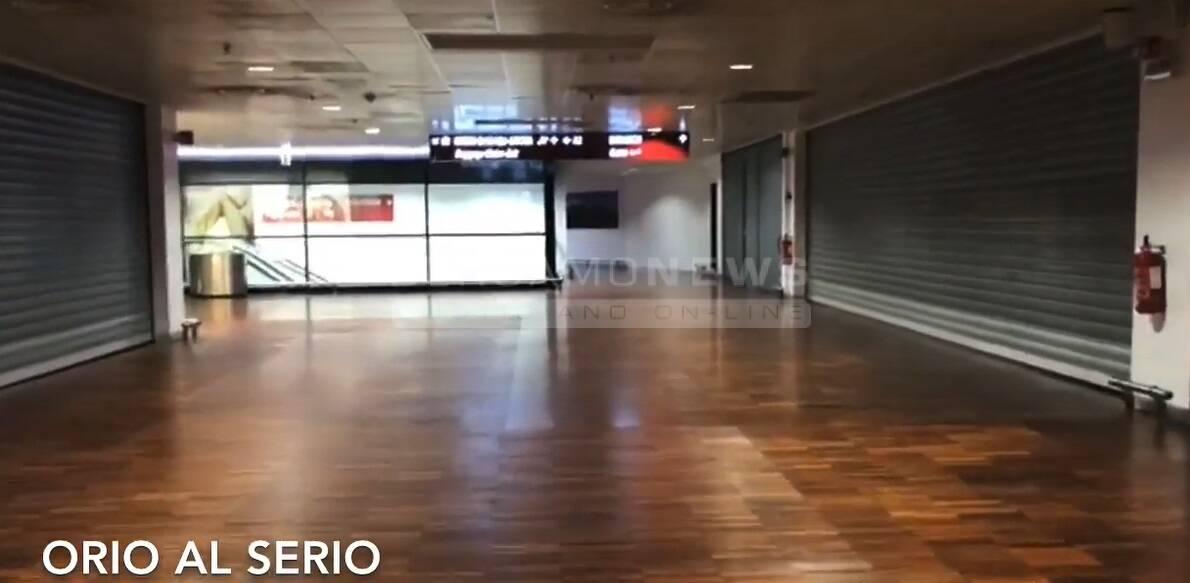aeroporto deserto