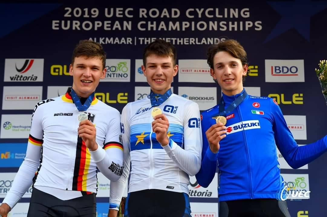 Andrea Piccolo - Campionati Europei 2019