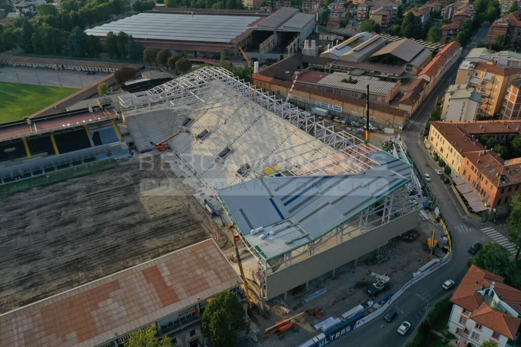 Copertura del Gewiss Stadium