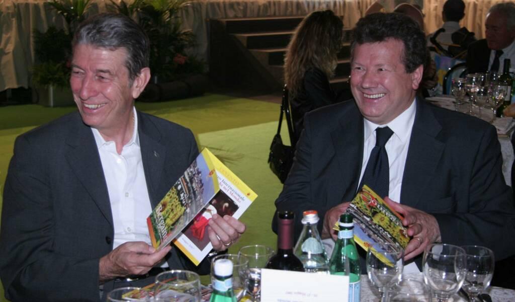 Felice Gimondi e Valerio Bettoni