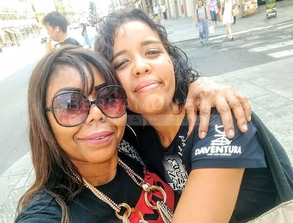 Elena Casetto e la mamma