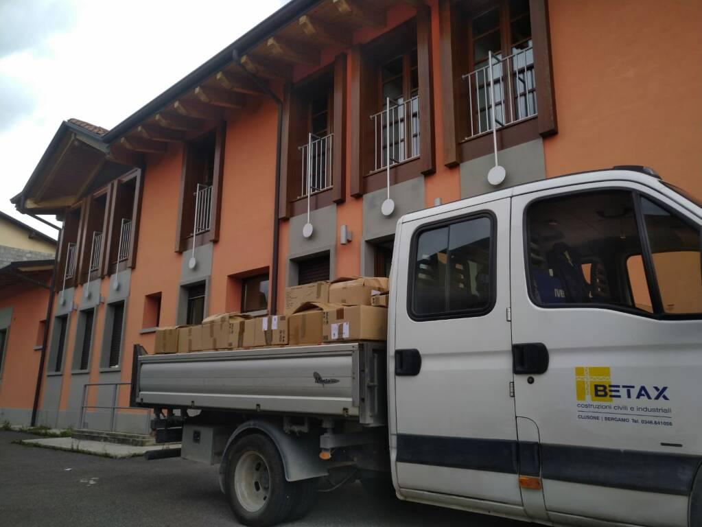 Trasloco comunità montana Valseriana