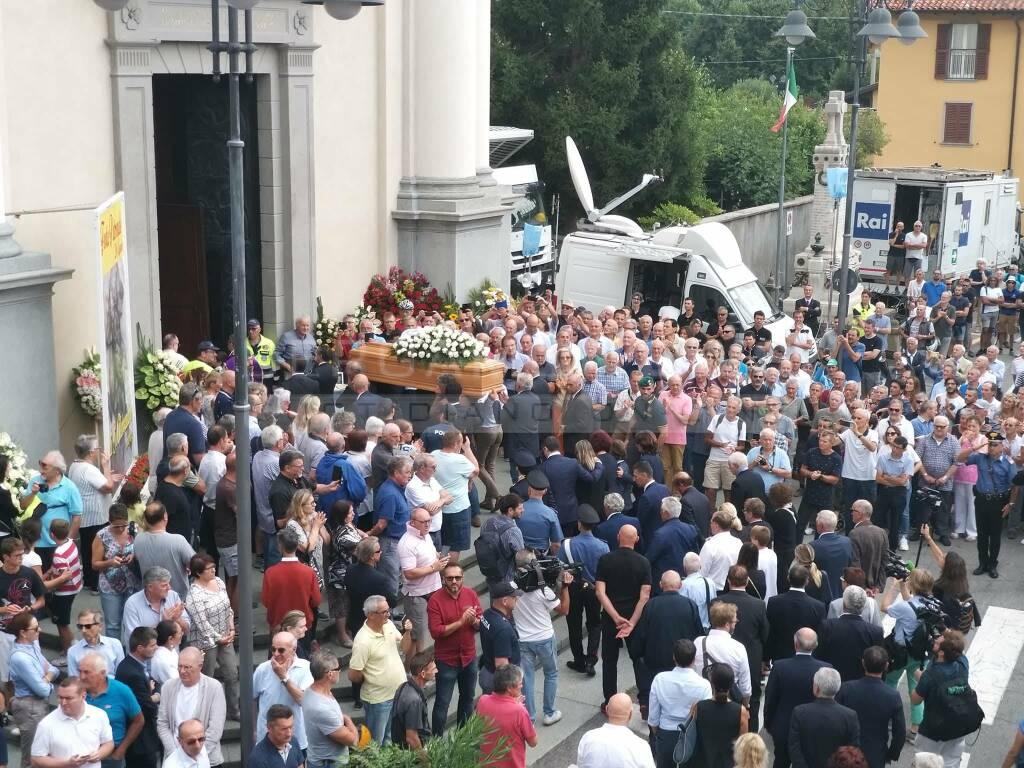 I funerali di Felice Gimondi