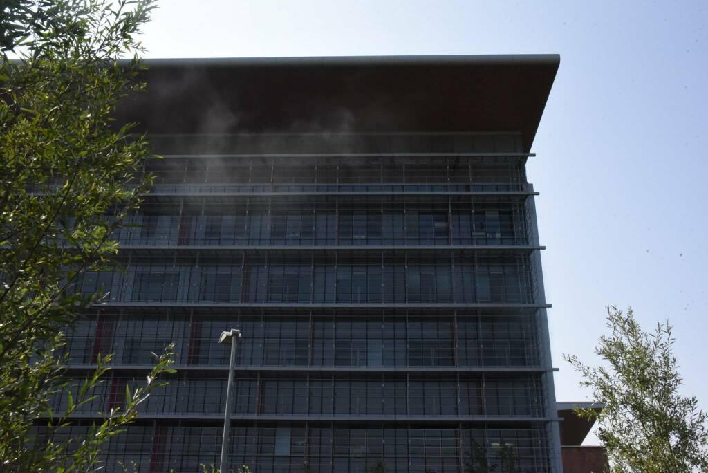 In ospedale si replica l'incendio scoppiato in psichiatria