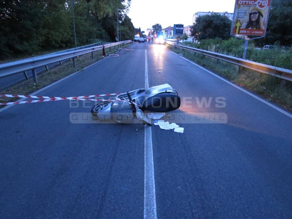 L'incidente mortale di Azzano