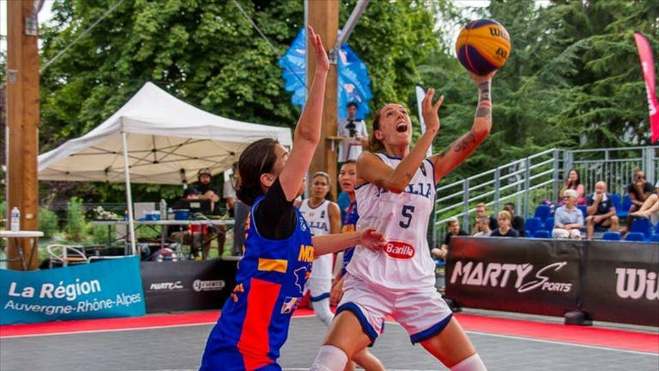 Marcella Filippi - FIBA 3x3 Women's Series