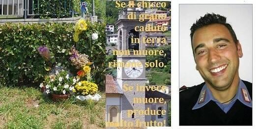 messa carabiniere ucciso