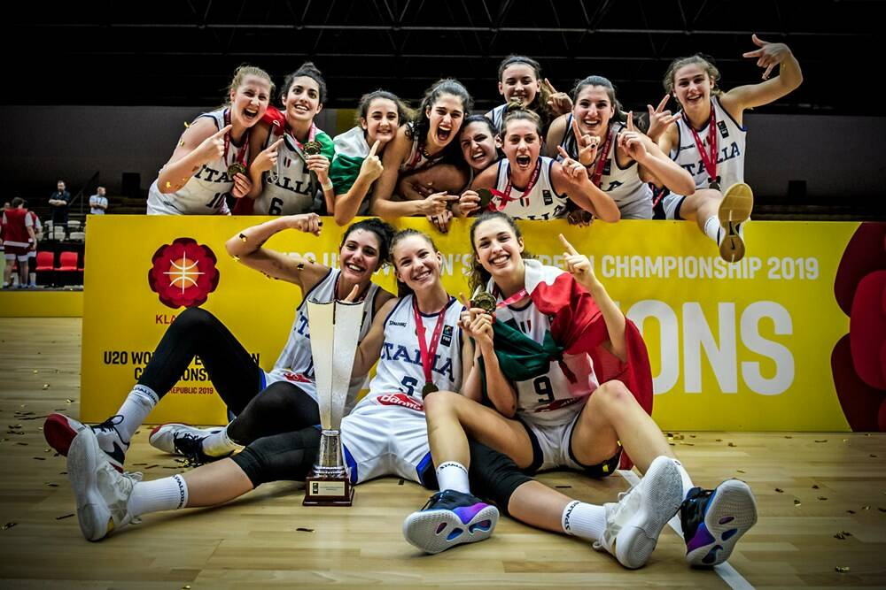 Nazionale Italiana basket - Campionati Europei Under 20 2019