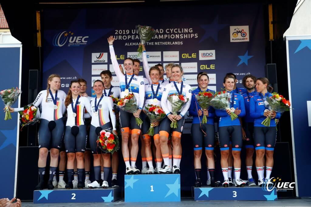 Vittoria Guazzini - Campionati Europei di ciclismo 2019
