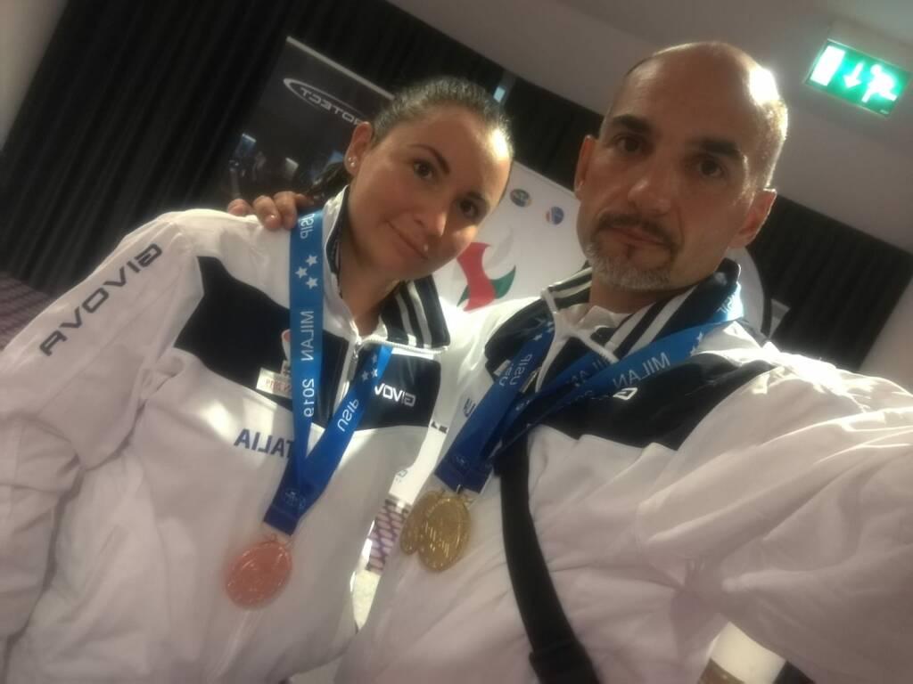 Ai mondiali di tiro dinamico trionfano due poliziotti bergamaschi