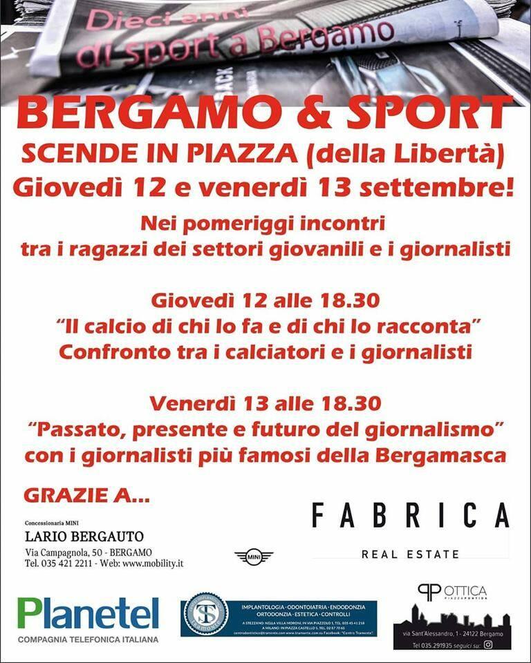 Bergamo & Sport Locandina