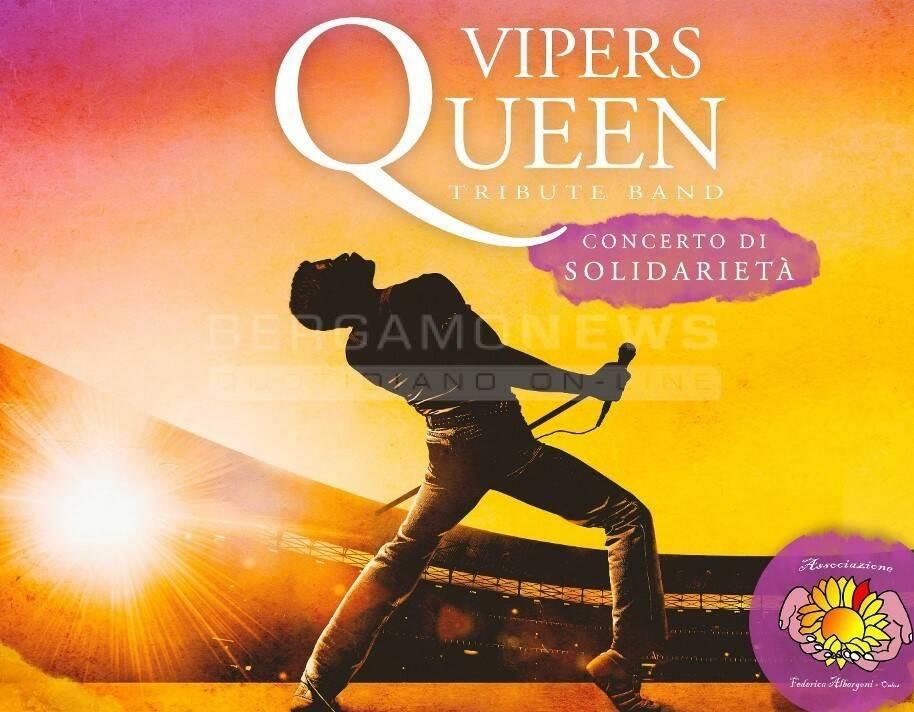 The Vipers - Queen tribute band - Concerto di solidarietà
