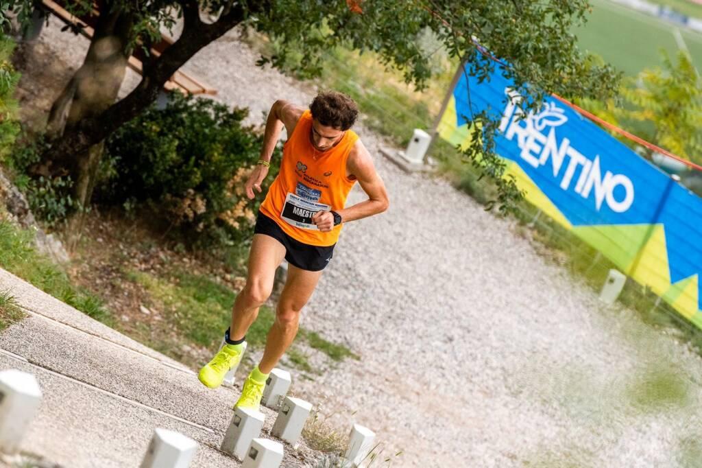 Cesare Maestri - Campionati Italiani corsa in montagna 2019