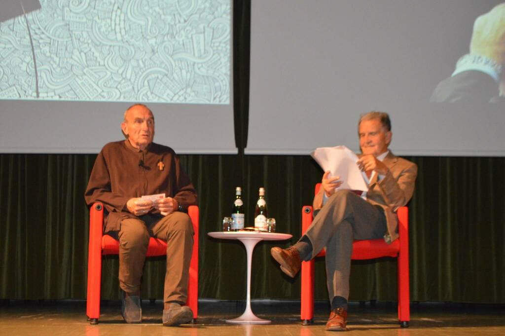 don Giovanni Nicolini e Romano Prodi