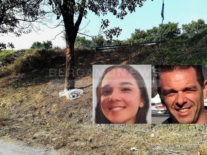 Fiori per Marzia e il suo papà Stefano, morti nell'incidente aereo