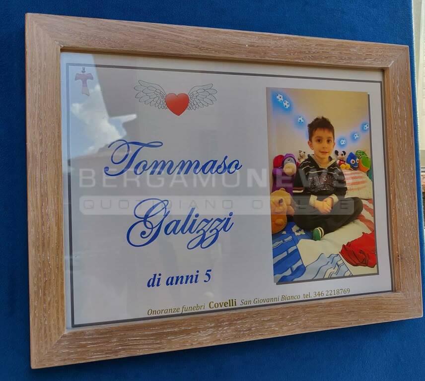 I funerali del piccolo Tommaso