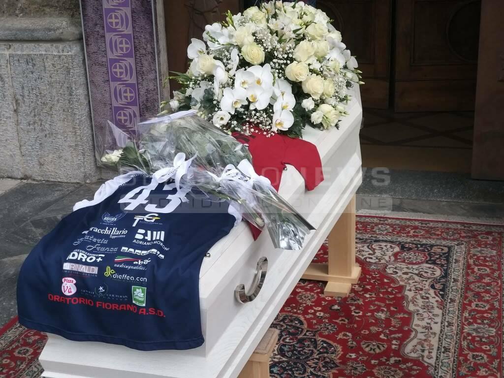 I funerali di Marzia Mecca