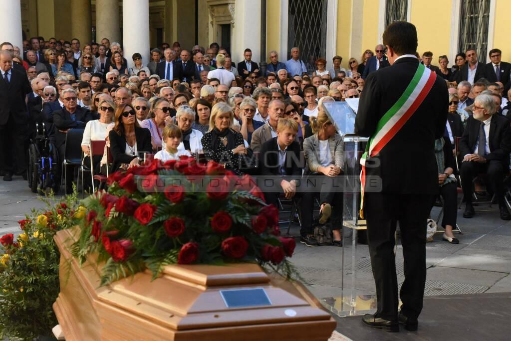 I funerali di Roberto Bruni