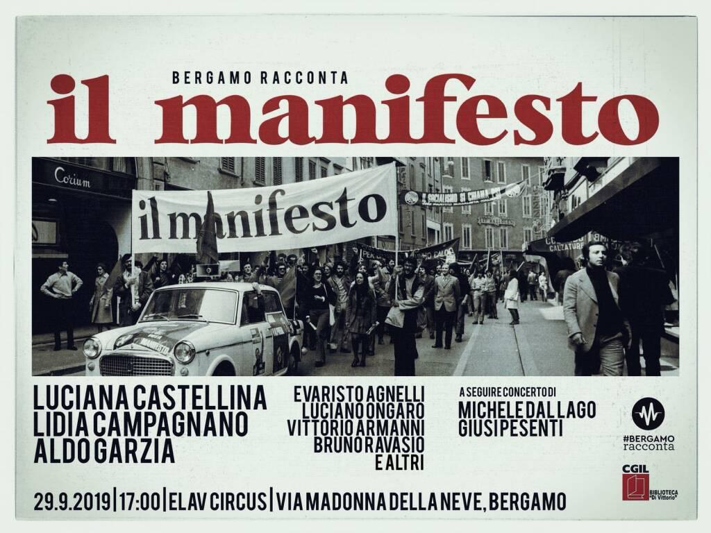 Il manifesta Bergamo racconta