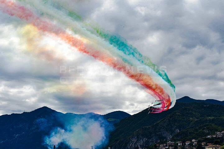 Le Frecce Tricolori a Lovere