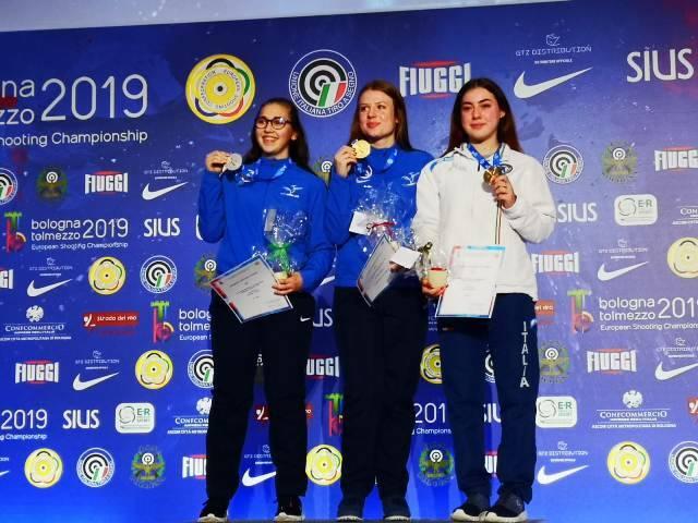 Margherita Brigida Veccaro - Campionati Europei Tiro a Segno 2019