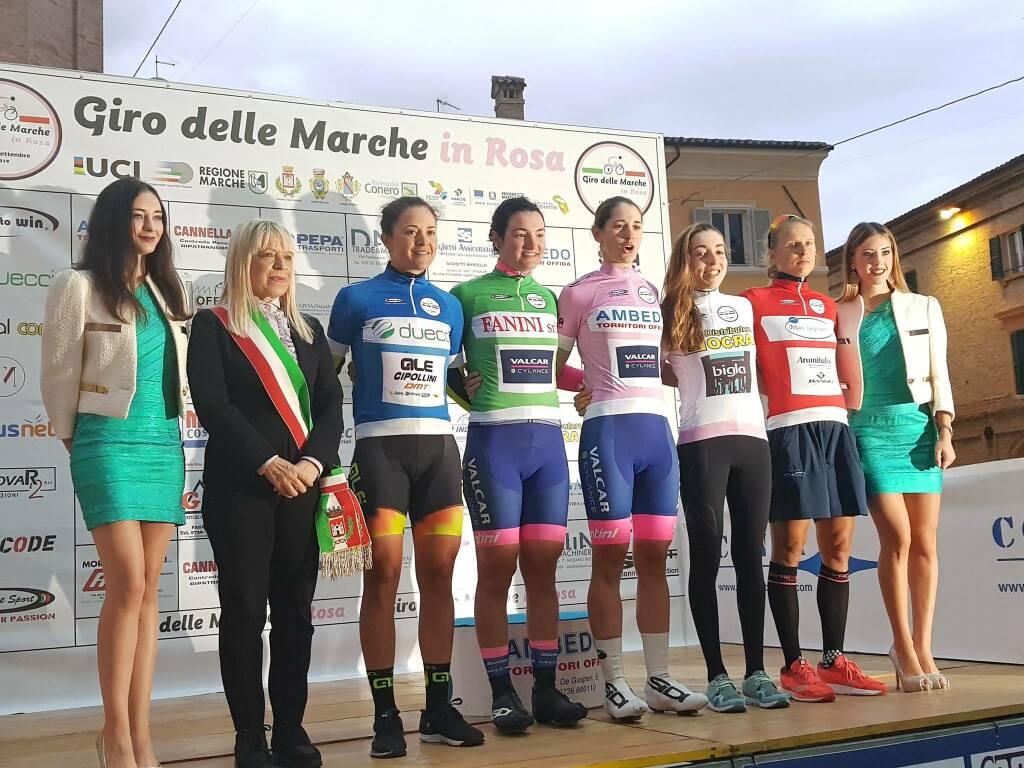 Marta Cavalli e Elena Pirrone - Giro delle Marche in Rosa 2019