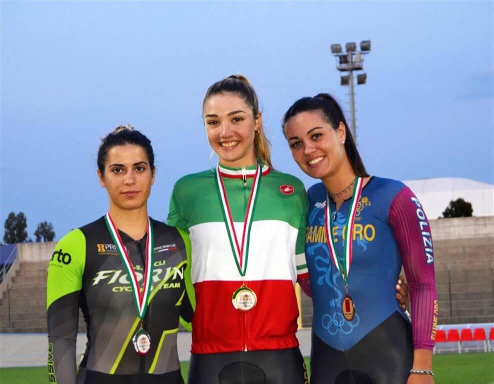 Martina Fidanza - Campionati Italiani Ciclismo su pista 2019