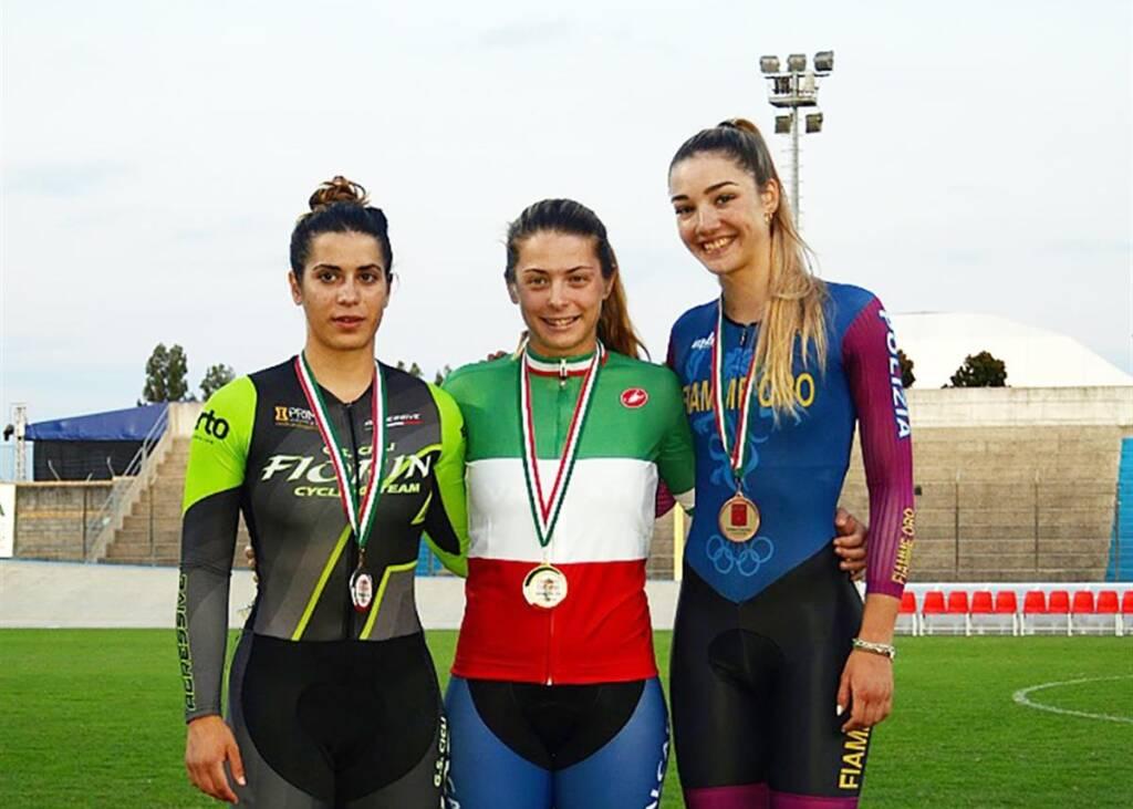 Miriam Vece e Martina Fidanza - Campionati Italiani ciclismo su pista 2019