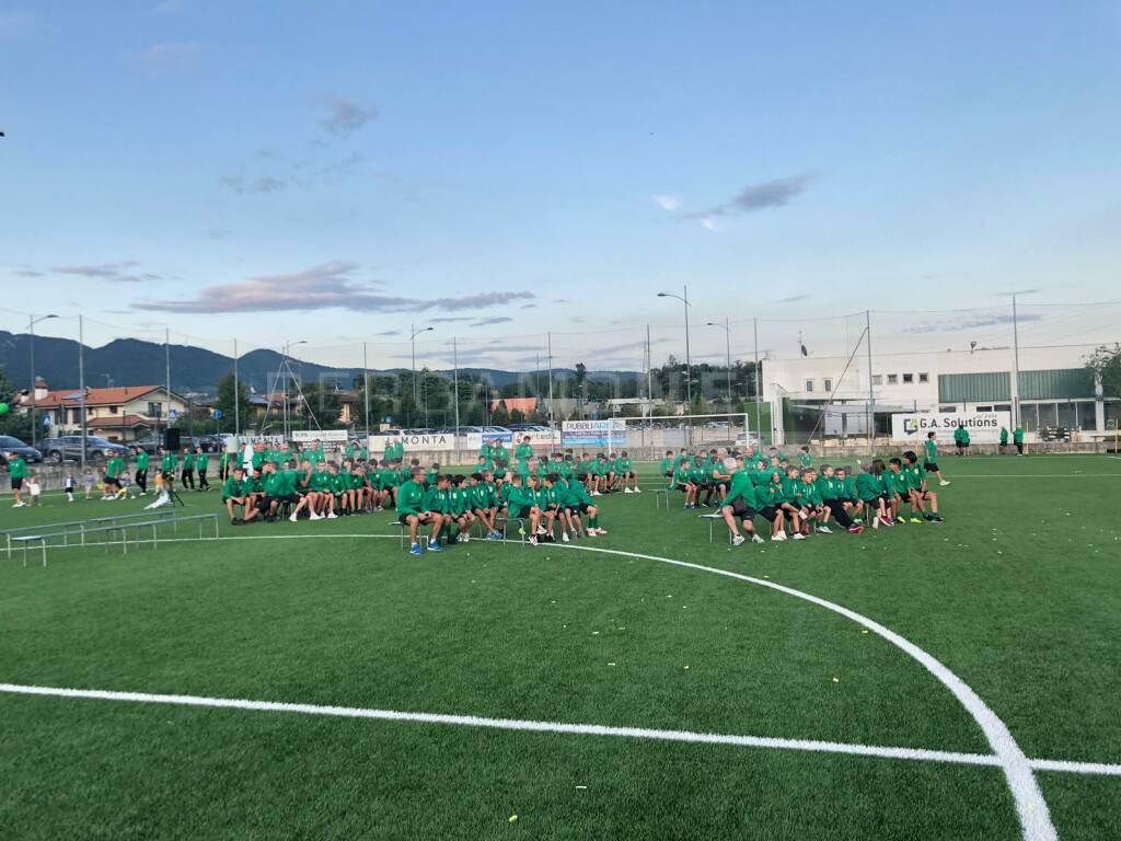 Presentazione squadre di calcio di Almè