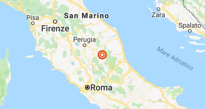 Terremoto Norcia 2019