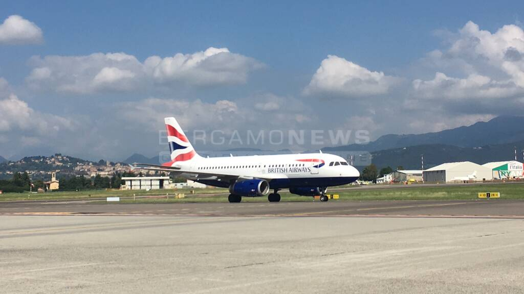 Volo Londra Gatwick-Bergamo con British Airways