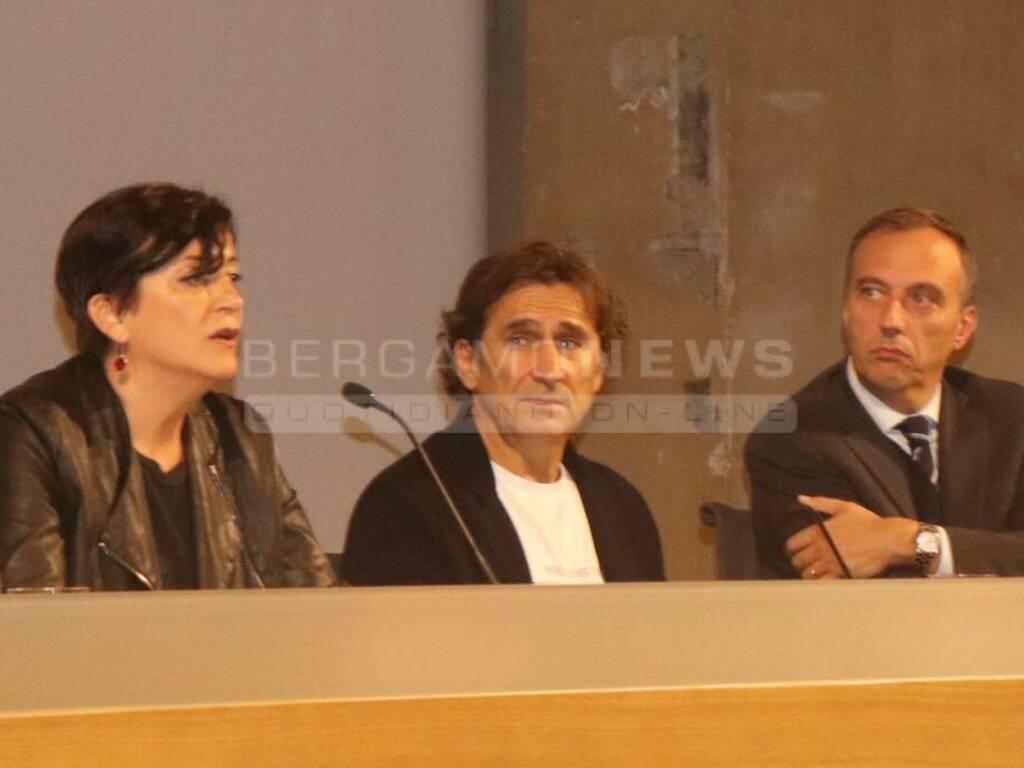 Alex Zanardi all'università di Bergamo