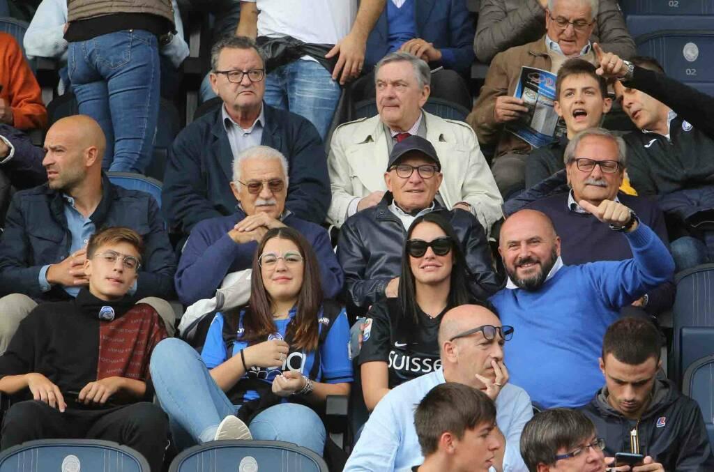 Atalanta-Lecce, i tifosi e la nuova curva Pisani