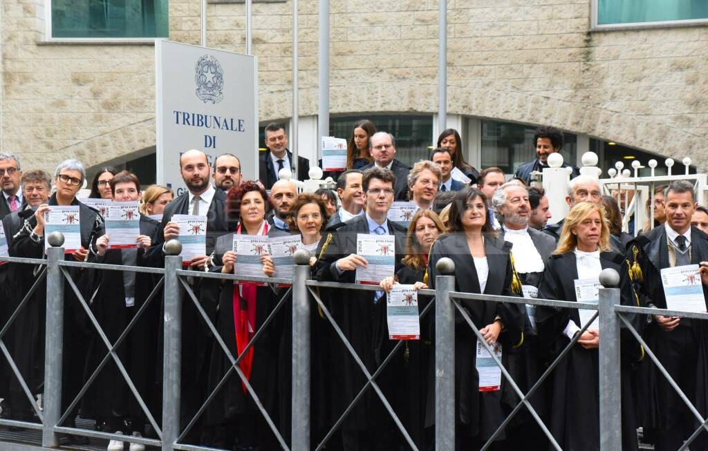 avvocati in sciopero anche a Bergamo
