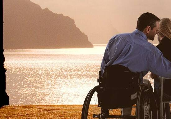disabile affetto