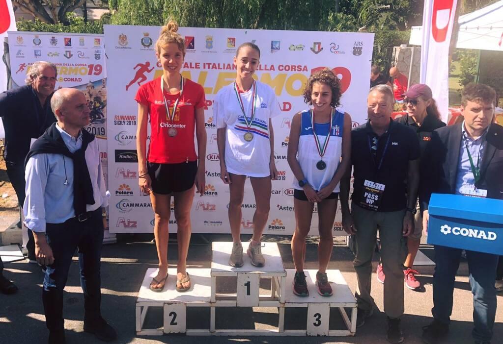 Federica Zenoni - Campionati Italiani Mezza Maratona 2019