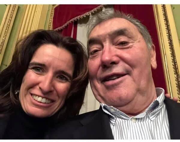 Norma Gimondi con Merckx