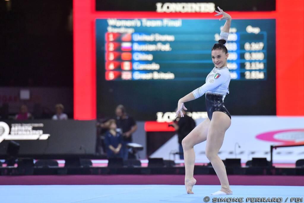 Giorgia Villa - Campionati del Mondo Ginnastica Artistica 2019