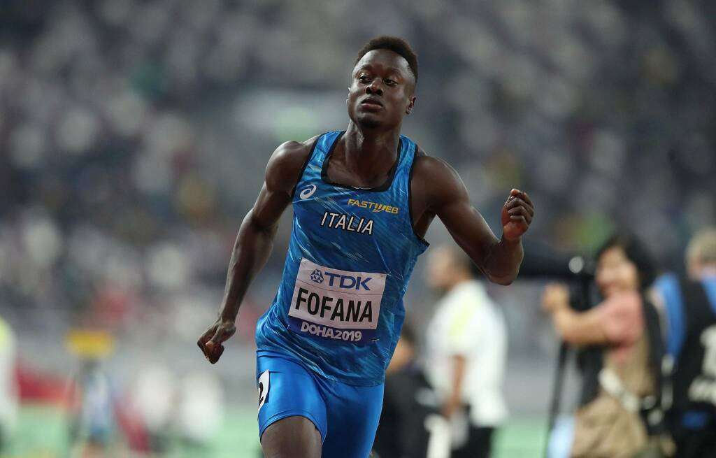 Hassane Fofana - Campionati del Mondo Atletica Leggera 2019
