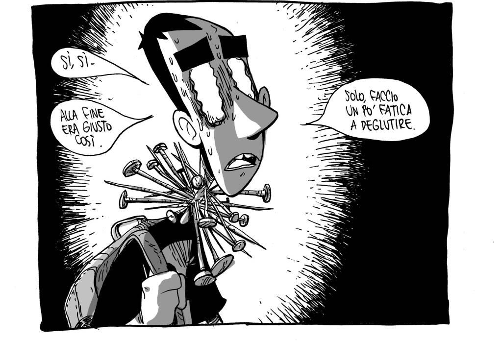 Il fumettista ZeroCalcare all'università di Bergamo
