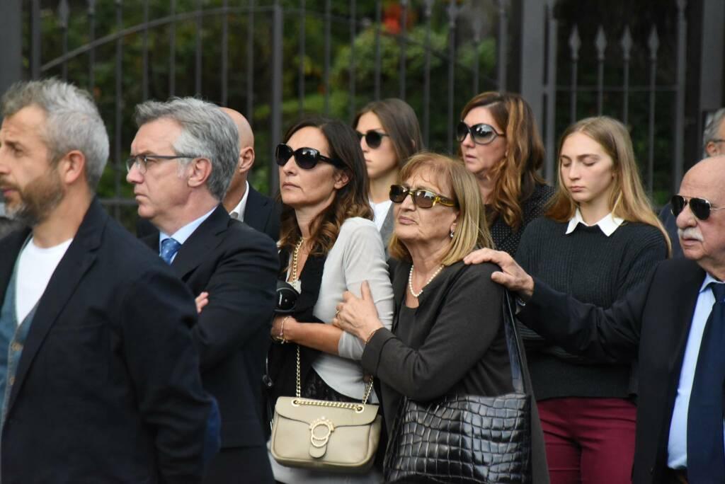 Il funerale di Stefano Mecca