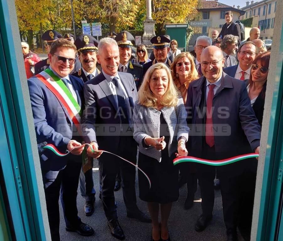 Inaugurati i nuovi uffici del Commissariato di Treviglio