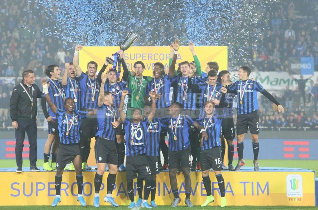 L'Atalanta Primavera vince la Supercoppa