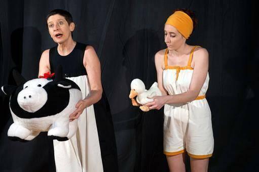 La mucca e l'uccellino